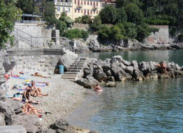 Beach in Opatija